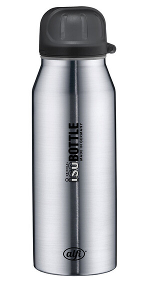 alfi IsoBottle Drinkfles 350ml zilver